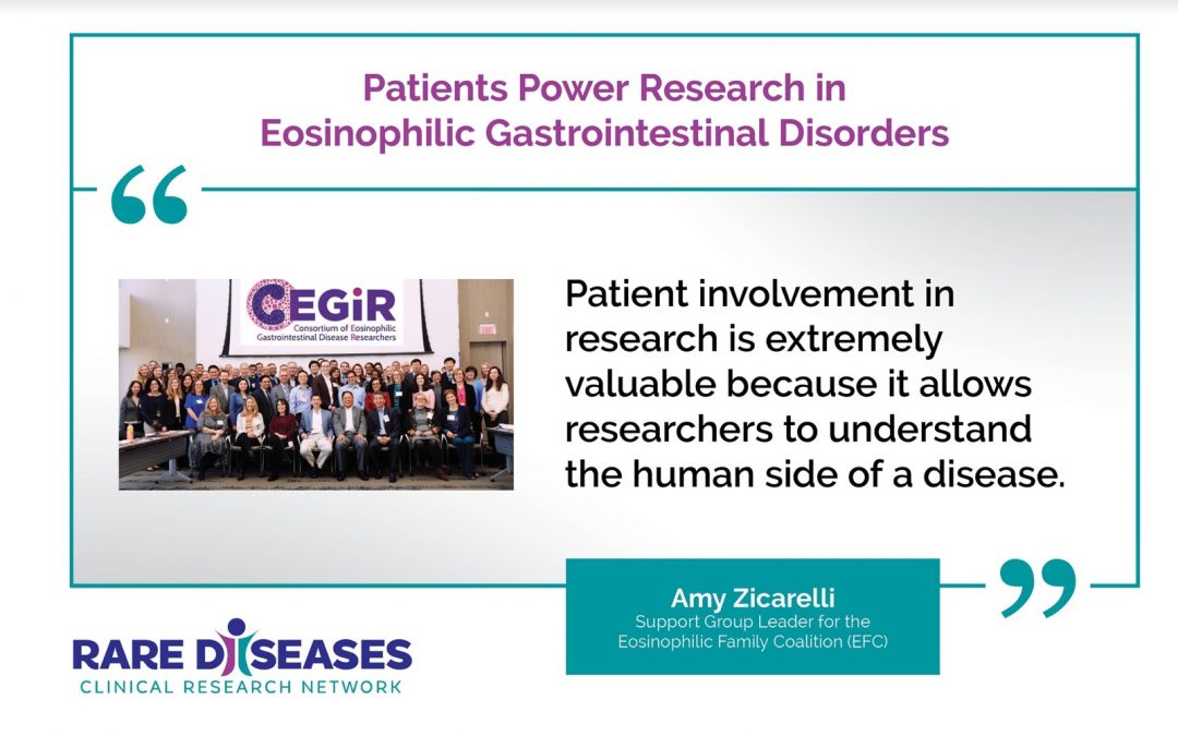 Patients Power Research in Eosinophilic Gastrointetinal Disorders